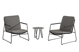 4 Seasons Outdoor Elba/Dali stoel loungeset 3-delig