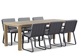 Lifestyle Estancia/Bristol 220 cm dining tuinset 7-delig