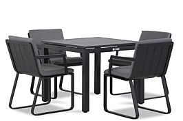 Lifestyle Estancia/Concept 90 cm dining tuinset 5-delig