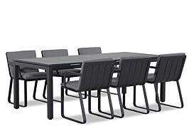 Lifestyle Estancia/Concept 220 cm dining tuinset 7-delig