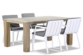 Lifestyle Estancia/Brighton 165 cm dining tuinset 5-delig