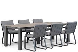 Lifestyle Estancia/Valley 240 cm dining tuinset 7-delig