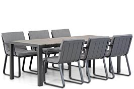 Lifestyle Estancia/Young 217 cm dining tuinset 7-delig