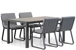 Lifestyle Estancia/Young 155cm dining tuinset 5-delig