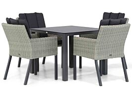 Garden Collections Oxbow/Pallazo 90 cm dining tuinset 4-delig