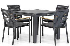 Santika Giovane/Concept 90 cm dining tuinset 5-delig