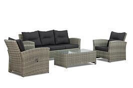 Garden Collections Giovedi loungeset 4-delig