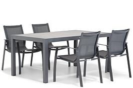 Lifestyle Gregorio/Residence 164 cm dining tuinset 5-delig