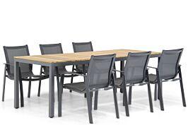 Lifestyle Gregorio/Mazzarino 220 cm dining tuinset 7-delig
