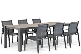 Lifestyle Gregorio/Valley 240 cm dining tuinset 7-delig