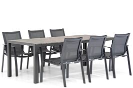 Lifestyle Gregorio/Young 217 cm dining tuinset 7-delig