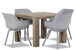 Hartman Sophie element/Brighton 100 cm dining tuinset 5-delig