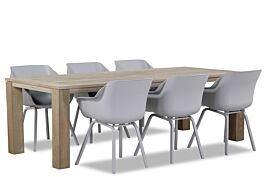 Hartman Sophie element/Brighton 240 cm dining tuinset 7-delig