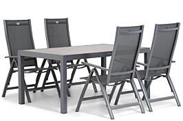 Hartman Royal Club/Residence 164 cm dining tuinset 5-delig
