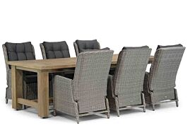 Garden Collections Kingston/Fourmile 260 cm dining tuinset 7-delig