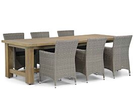 Garden Collections Dublin/Fourmile 260 cm dining tuinset 7-delig