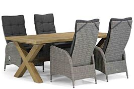 Garden Collections Lincoln/Oregon 200 cm dining tuinset 5-delig