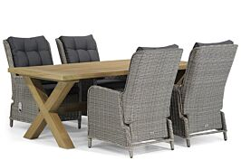 Garden Collections Kingston/Oregon 200 cm dining tuinset 5-delig