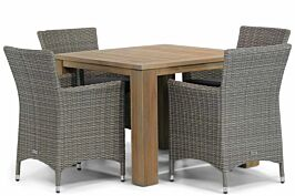 Garden Collections Dublin/Brighton 100 cm dining tuinset 5-delig