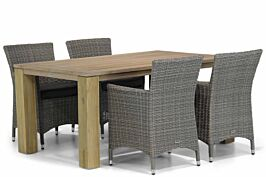 Garden Collections Dublin/Brighton 165 cm dining tuinset 5-delig