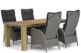 Garden Collections Lincoln/Brighton 200 cm dining tuinset 5-delig