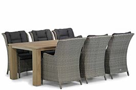 Garden Collections Aberdeen/Brighton 240 cm dining tuinset 7-delig