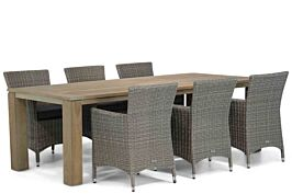 Garden Collections Dublin/Brighton 240 cm dining tuinset 7-delig