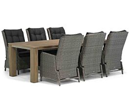 Garden Collections Kingston/Brighton 240 cm dining tuinset 7-delig