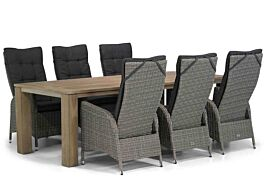 Garden Collections Lincoln/Brighton 240 cm dining tuinset 7-delig