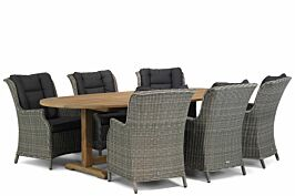 Garden Collections Aberdeen/Brighton 240 cm ovaal dining tuinset 7-delig