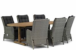 Garden Collections Kingston/Brighton 240 cm ovaal dining tuinset 7-delig