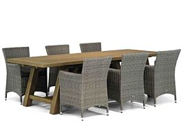 Garden Collections Dublin/Lazio 260 cm dining tuinset 7-delig