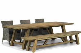 Garden Collections Dublin/Lazio 260 cm dining tuinset 5-delig