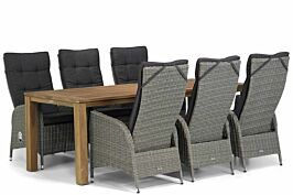 Garden Collections Lincoln/Bristol 220 cm dining tuinset 7-delig