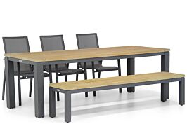 Lifestyle Ultimate/Veneto 230 cm dining tuinset 5-delig