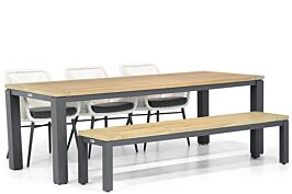 Lifestyle Advance/Veneto 230 cm dining tuinset 5-delig