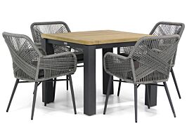 Lifestyle Advance/Veneto 90 cm dining tuinset 5-delig