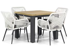 Lifestyle Advance/Veneto 90 cm dining tuinset 5-delig