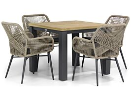 Lifestyle Advance/Veneto 95 cm dining tuinset 5-delig