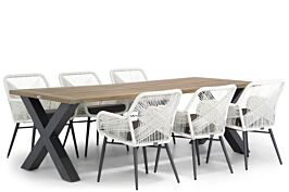 Lifestyle Advance/Cardiff 240 cm dining tuinset 7-delig