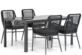 Coco Adali/Mondello 160 cm dining tuinset 5-delig
