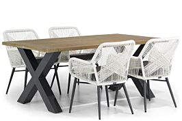 Lifestyle Advance/Cardiff 180 cm dining tuinset 5-delig