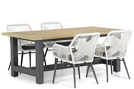 Lifestyle Advance/San Francisco 200 cm dining tuinset 5-delig
