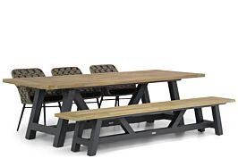 Lifestyle Crossway/Trente 260 cm dining tuinset 5-delig