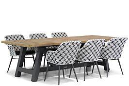 Lifestyle Crossway/Trente 260 cm dining tuinset 7-delig