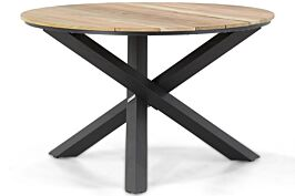 Lifestyle Fabriano dining tuintafel rond 120 cm