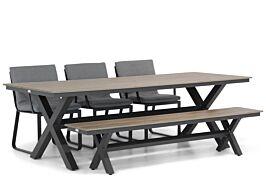 Lifestyle Estancia/Forest 240 cm dining tuinset 5-delig