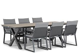 Lifestyle Treviso/Forest 240 cm dining tuinset 7-delig