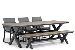 Lifestyle Treviso/Forest 240 cm dining tuinset 5-delig