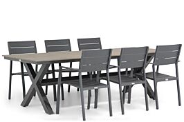 Lifestyle Stella/Forest 240 cm dining tuinset 7-delig